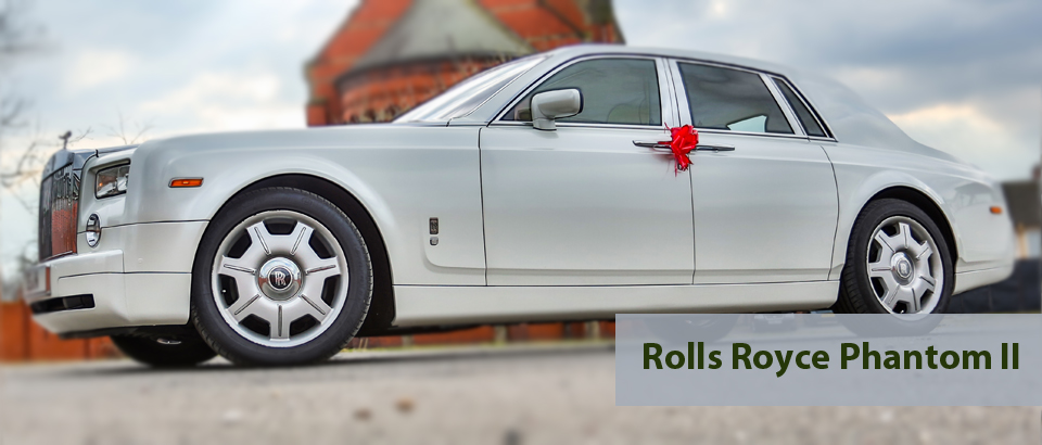 Rolls Royce Phantom II, Wedding Cars