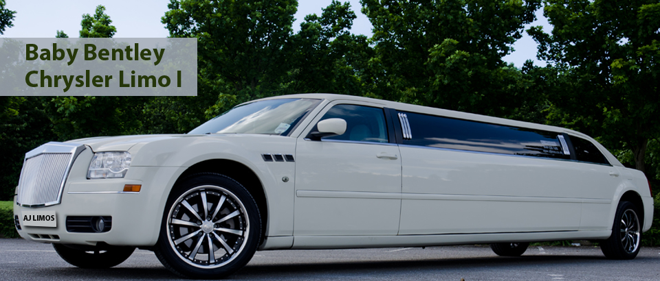 Baby Bentley Chrysler limousine, Wedding Cars