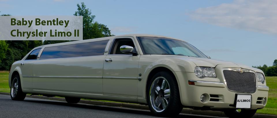 Baby Bentley Chrysler limousine II, Wedding Cars