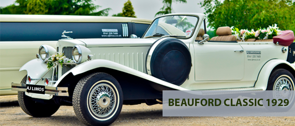 Beauford Classic 1929, Wedding Cars